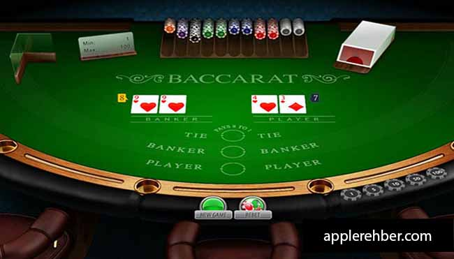 An Explanation of the Baccrat Gambling Game